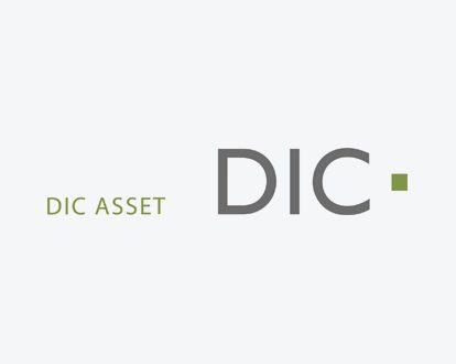 Das Logo der DIC Asset AG.