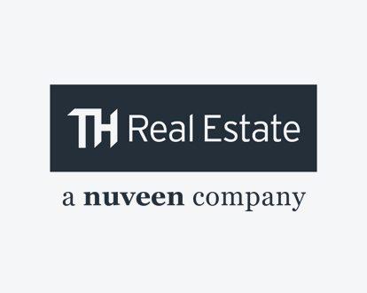 Das Logo der Nuveen Real Estate.