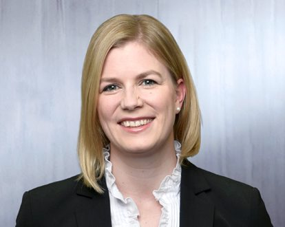 Portrait photo of Katharina Kirsch, Manager Marketing & Communication, INTREAL