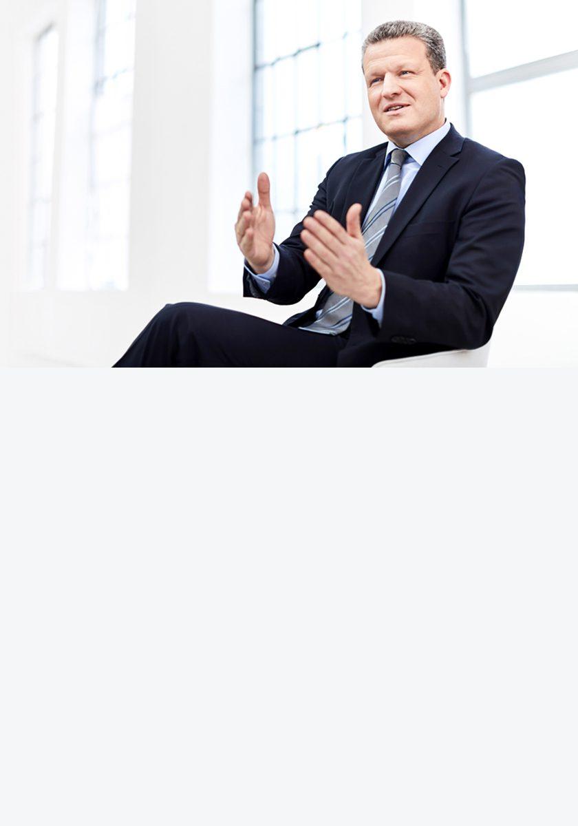 Andreas Ertle - Geschäftsführer - beschreibt, dass die INTREAL Spezialist für die Auflage und Administration für Immobilienfonds ist