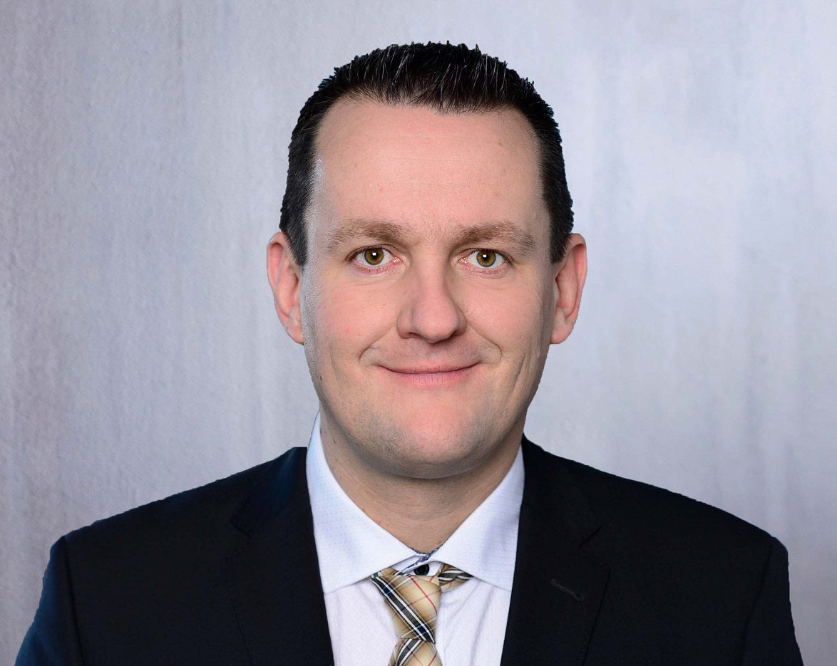 Portraitfoto von Ronny Wagner, Conducting Officer Finance, INTREAL Luxembourg